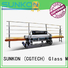 function plc straight bevelled edger      glass beveling machine motors SUNKON