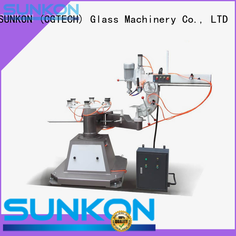 SUNKON Brand outer inner glass glass shape edger edging