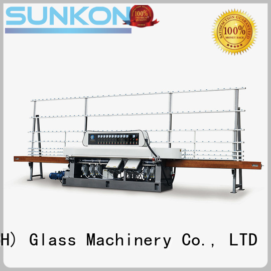 SUNKON Brand glass control display straight line edger
