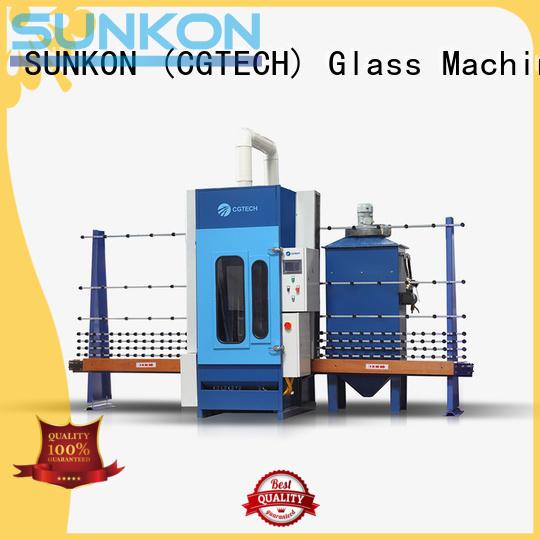 autoglass sandblasting machine SUNKON automatic sandblasting machine manufacturers