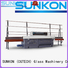 miters mitering machine SUNKON glass edge polishing machine