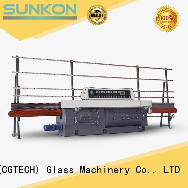 SUNKON Brand edge variable glass edge polishing machine mitering miters