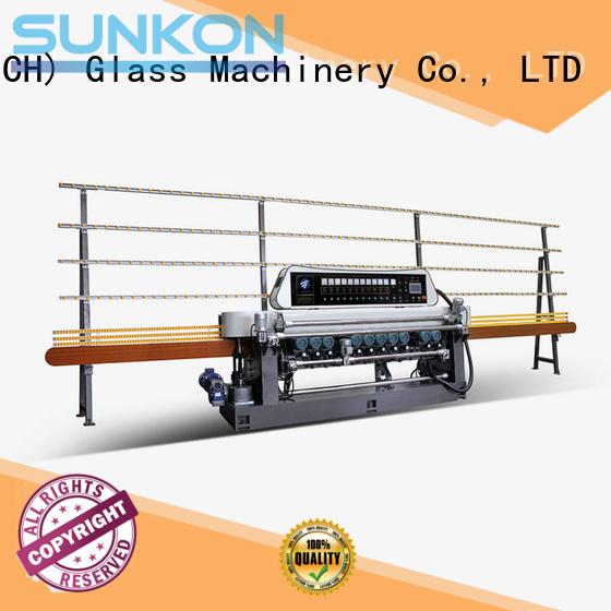 Hot glass beveling machine for sale line digital glass SUNKON Brand