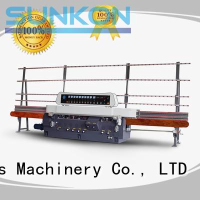 glass straight line beveling machine machine digital straight line edger flat company