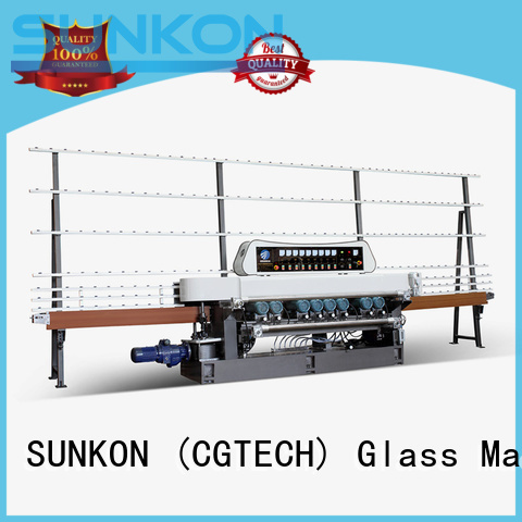 plc digital glass beveling machine for sale SUNKON