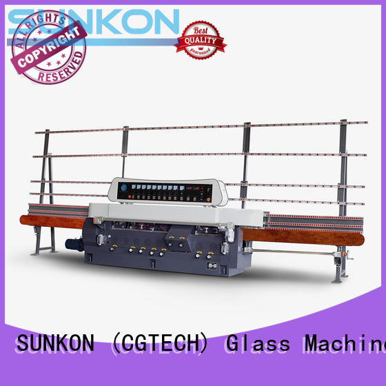 plc grinding straight line edger edging SUNKON