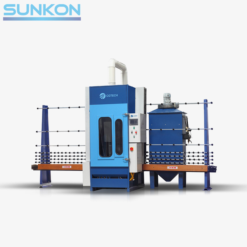 Cgps-2000 Auto-Glass Sandblasting Machine