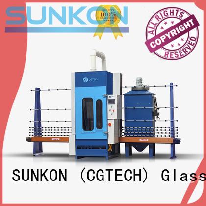 automatic sandblasting machine manufacturers autoglass SUNKON Brand automatic glass sandblasting machine
