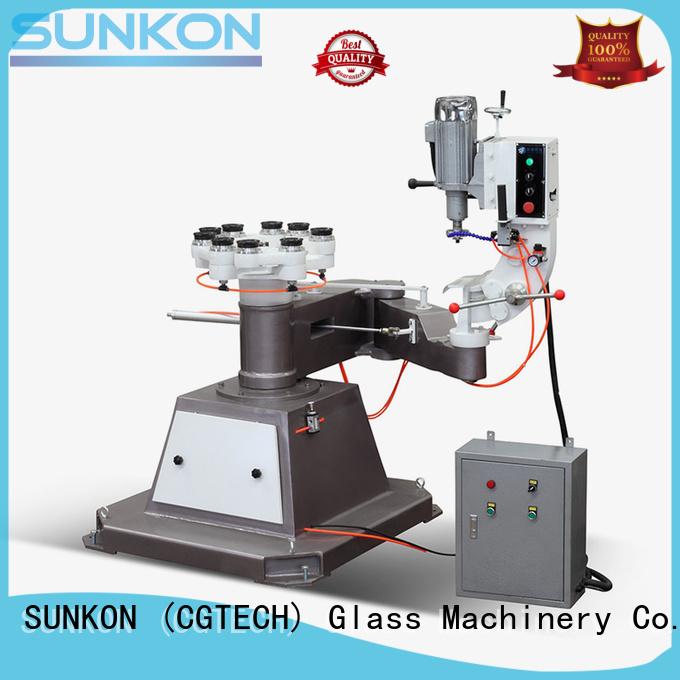 glass Custom inner edging glass shape edger SUNKON shape