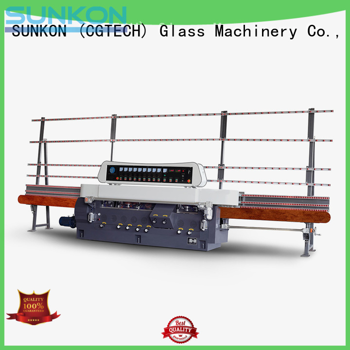 OEM glass straight line beveling machine glass control model straight line edger