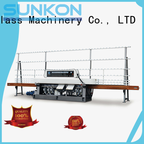 glass straight line beveling machine edging straight OEM straight line edger SUNKON