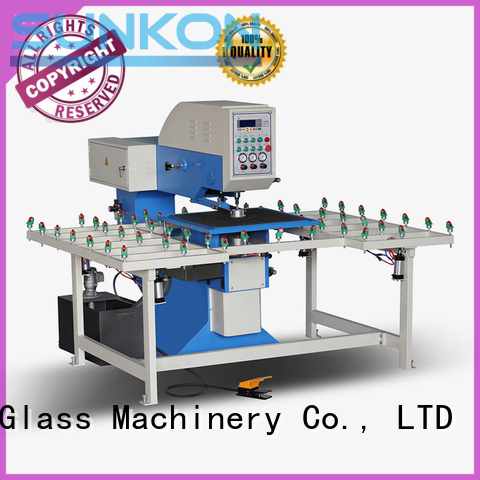 drilling glass configuration glass glass drilling machine SUNKON Warranty