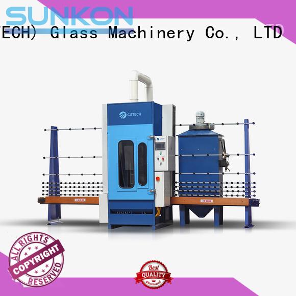 Wholesale sandblasting machine automatic glass sandblasting machine SUNKON Brand