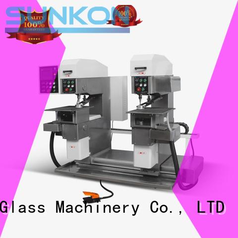 SUNKON Brand machine standard glass glass drilling machine drilling