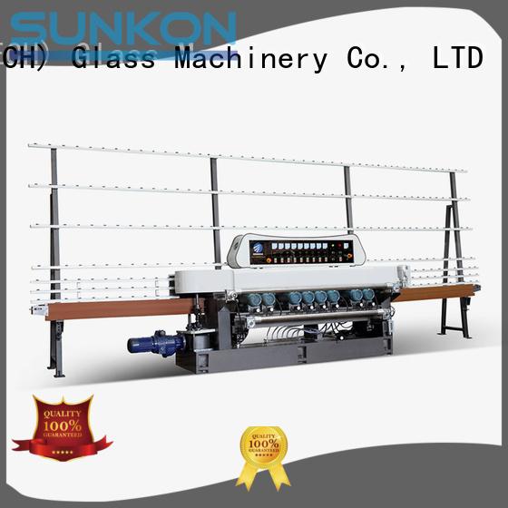 glass beveling machine for sale plc motors display beveling SUNKON