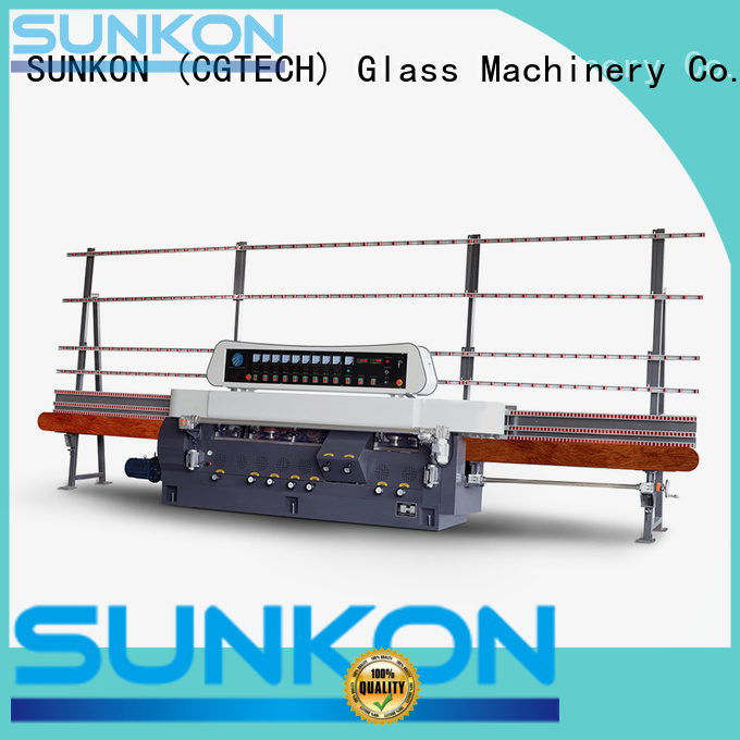 glass straight line beveling machine vertical SUNKON Brand straight line edger