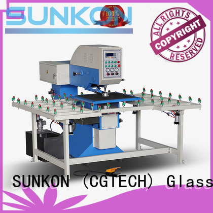 drilling glass drilling glass drilling machine standard SUNKON