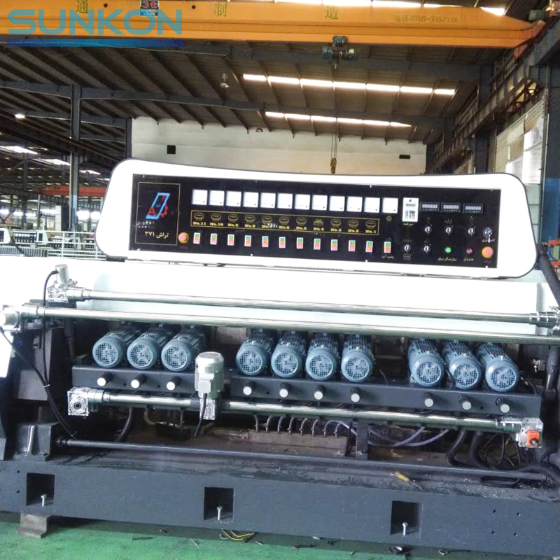 CGX371SJ Glass Straight Line Beveling Machine With Lifting Function