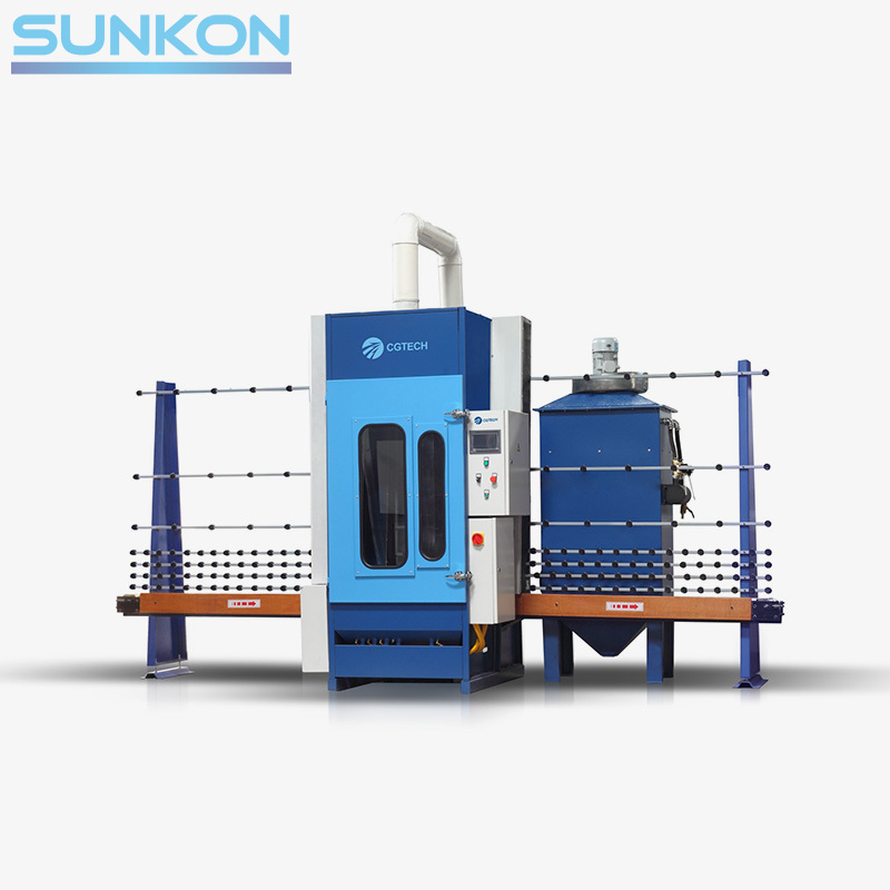 Cgps-1600 Auto-Glass Sandblasting Machine