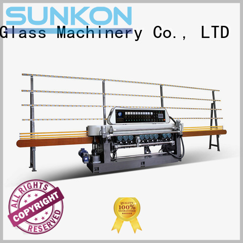 control straight bevelled edger      glass beveling machine SUNKON glass beveling machine for sale