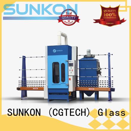 autoglass sandblasting machine automatic sandblasting machine manufacturers SUNKON manufacture