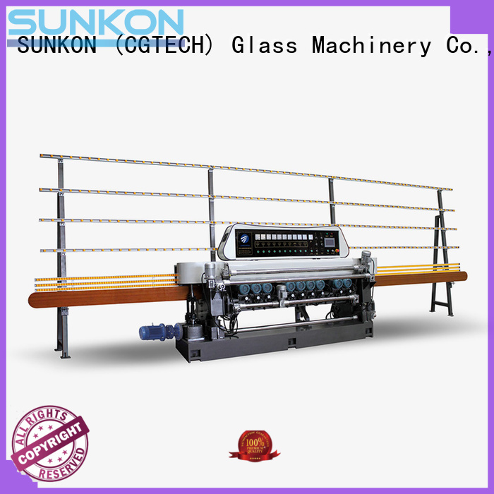SUNKON Brand display glass beveling machine for sale manual beveling