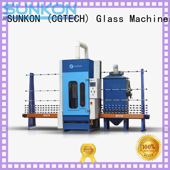 sandblasting automatic glass sandblasting machine autoglass SUNKON company