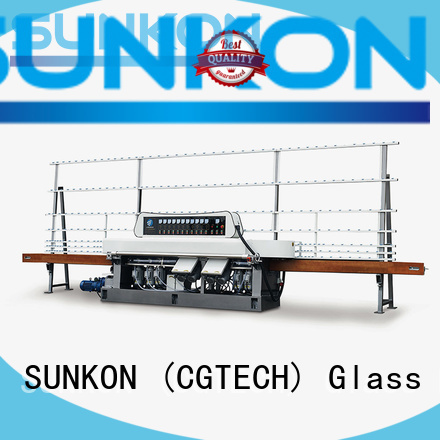 glass straight line beveling machine digital straight straight line edger SUNKON Brand