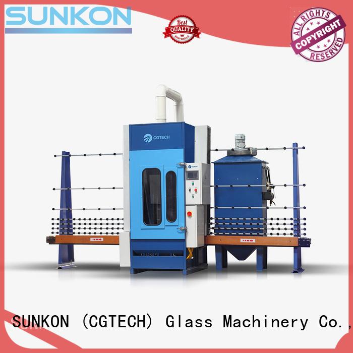 autoglass sandblasting machine automatic glass sandblasting machine machine SUNKON