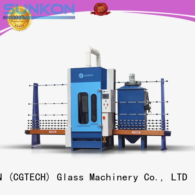 SUNKON Brand machine sandblasting automatic glass sandblasting machine manufacture