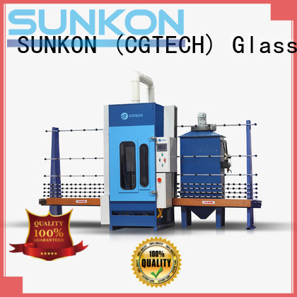 sandblasting machine autoglass automatic glass sandblasting machine SUNKON
