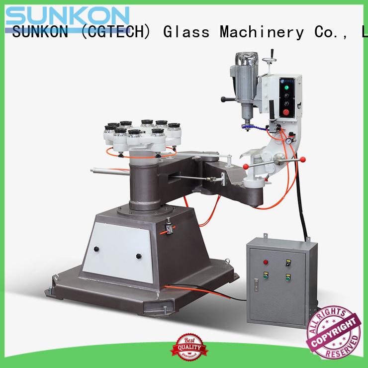 glass grinding machine price inner glass shape edger SUNKON