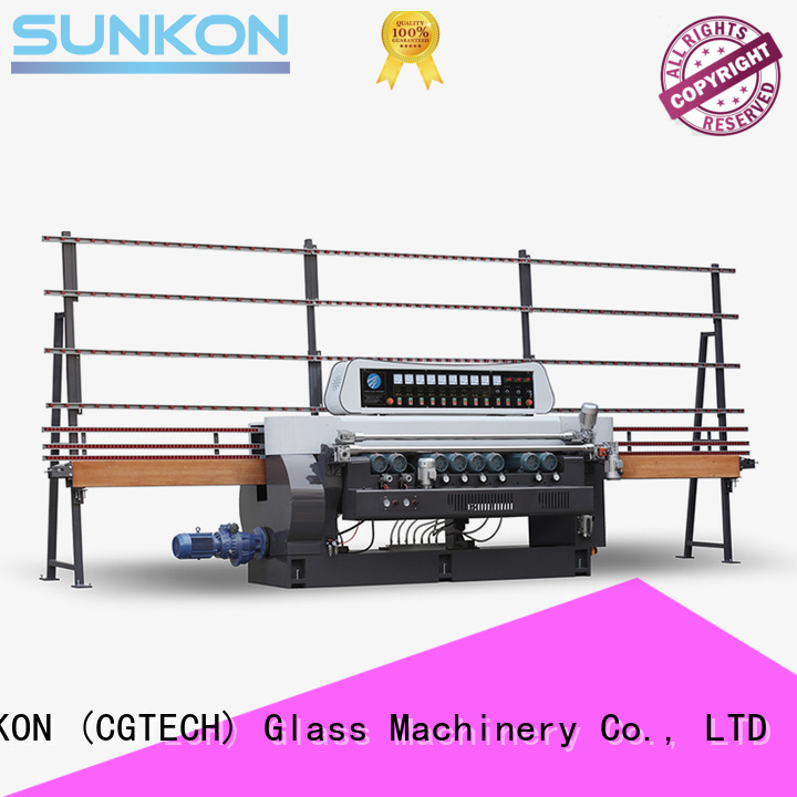 SUNKON glass beveling machine for sale machine beveling manual