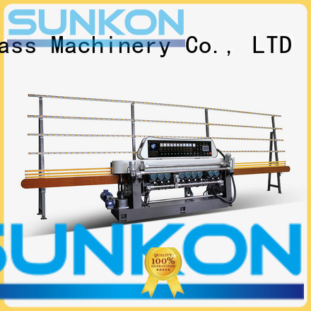 digital function glass beveling machine for sale SUNKON manufacture