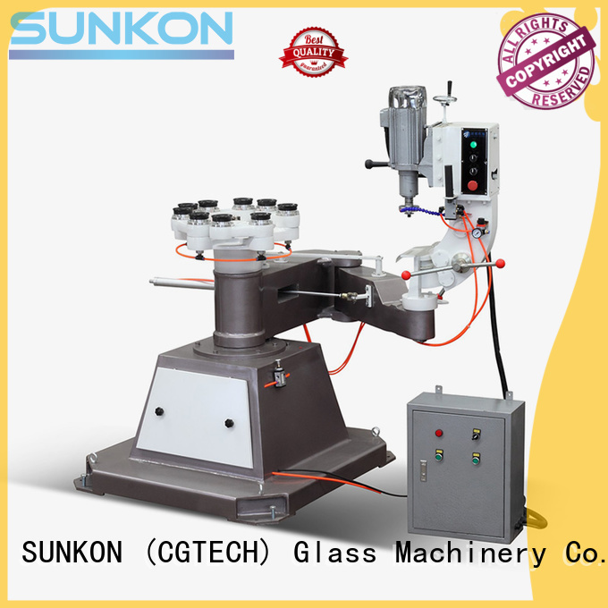 SUNKON Brand outer edging custom glass grinding machine price