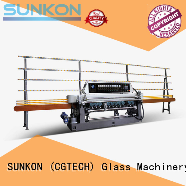 SUNKON Brand manual straight bevelled edger function factory