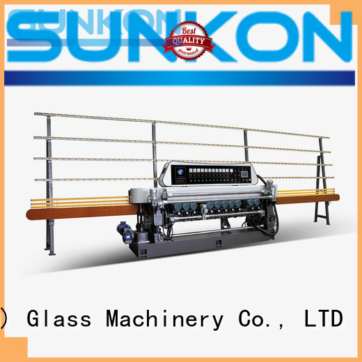 glass beveling machine for sale manual straight plc machine SUNKON