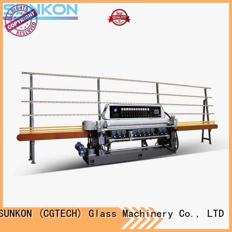 SUNKON glass beveling machine for sale machine glass digital
