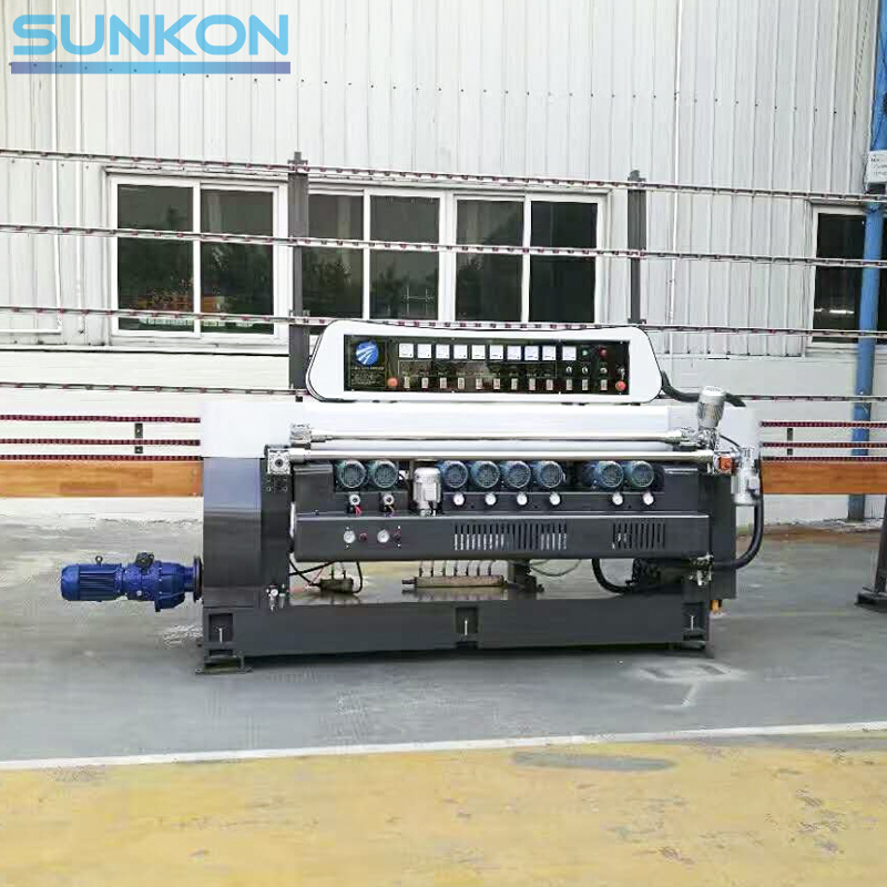 CGX261M 9 Motors Glass Straight Line Beveling Machine with Manual Control