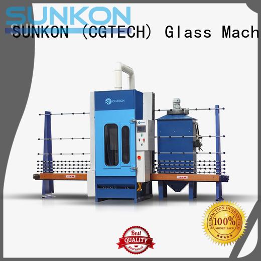 automatic sandblasting machine manufacturers sandblasting autoglass automatic glass sandblasting machine SUNKON Brand