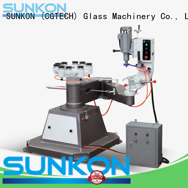 Hot glass grinding machine price grinding shape outer SUNKON Brand