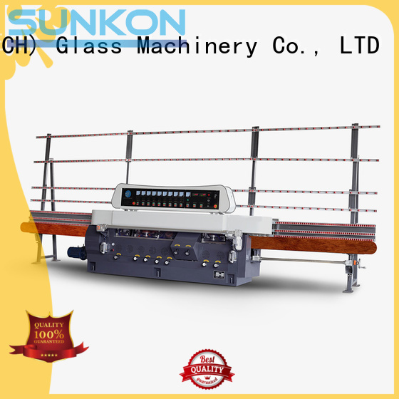 OEM glass straight line beveling machine glass flat display straight line edger