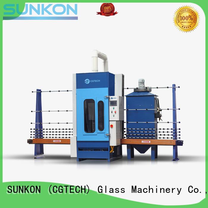 sandblasting machine autoglass SUNKON Brand automatic sandblasting machine manufacturers factory