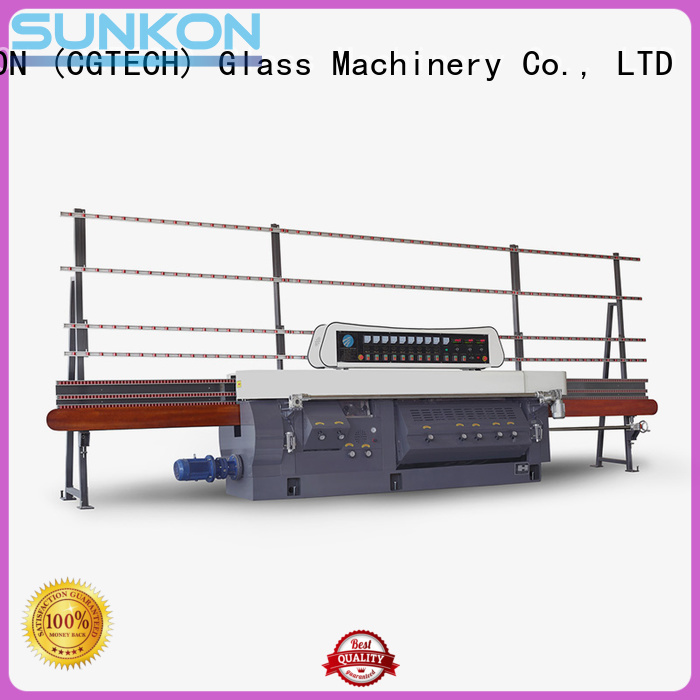 glass edge polishing machine flat motors OEM mitering machine SUNKON
