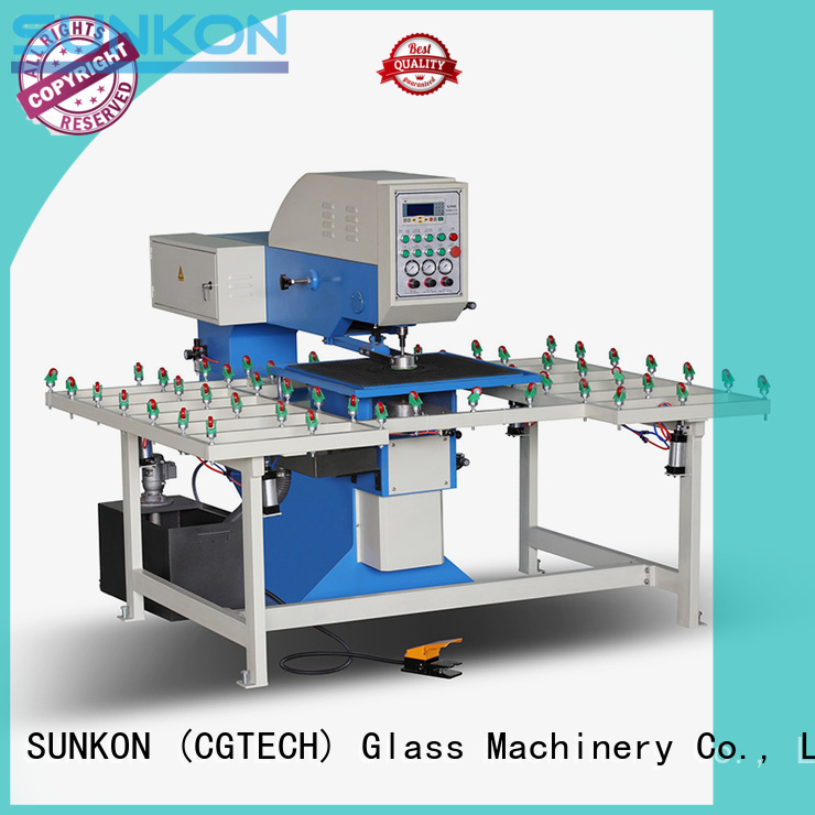 drilling glass glass glass drilling machine machine