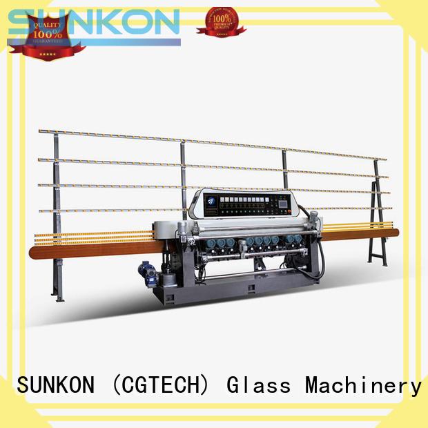 lifting machine plc straight bevelled edger SUNKON