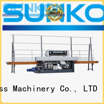 glass straight line beveling machine grinding straight line edger model