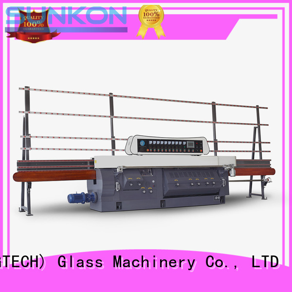 Quality glass edge polishing machine SUNKON Brand flat mitering machine