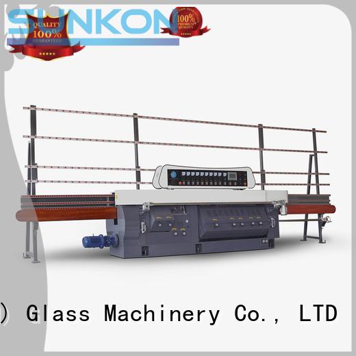 glass edge polishing machine motors mitering machine flat