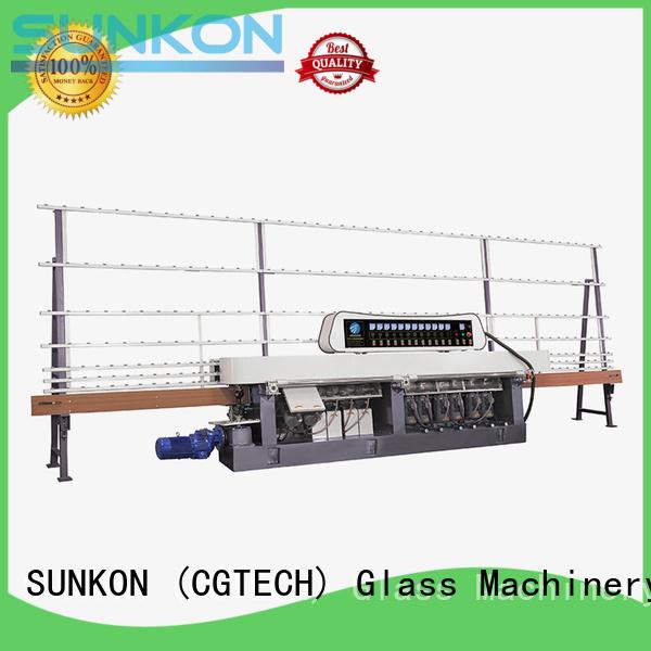 OEM straight line edger straight machine glass straight line beveling machine
